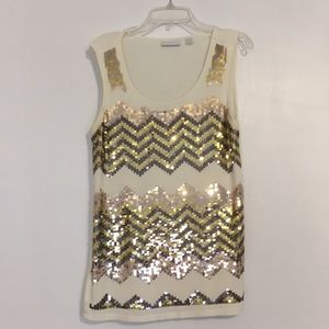 NY&C sequin tank top